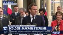 """""""C'est la première fois qu'on établit des faits niveau scientifique."""" Emmanuel Macron s'exprime sur le rapport de l'ONU sur la biodiversité"""