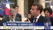 """Emmanuel Macron: """"Lutter pour la biodiversité, c'est lutter contre les inégalités d'aujourd'hui et de demain"""""""