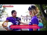 Guerreras en el campo: Ana Alicia fue a conocer a un equipo de jugadoras de americano | Sale el Sol