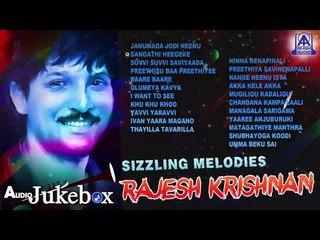 Sizzling Meldoies Rajesh Krishnan | Best Selected Songs Of Rajesh Krishnan | Kannada Movie Songs