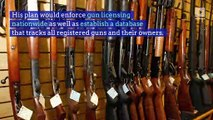 Cory Booker Proposes Extensive Gun Control Plan