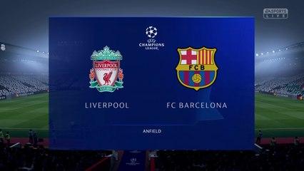 Liverpool vs. Barcelona - UEFA Champions League Semi-final 2018-19 - CPU Prediction