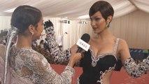 Bella Hadid on Her Jewel-Encrusted Met Gala Dress