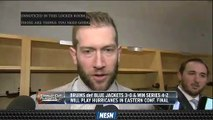 David Backes Commends Bruins' Performance In Game 6 Win