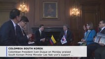 Duque thanks South Korean PM for support of Colombia's APEC membership