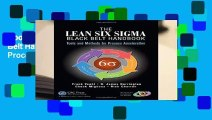 About For Books  The Lean Six Sigma Black Belt Handbook: Tools and Methods for Process