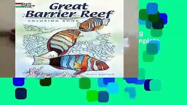 Full version  Great Barrier Reef Coloring Book (Dover Nature Coloring Book) Complete