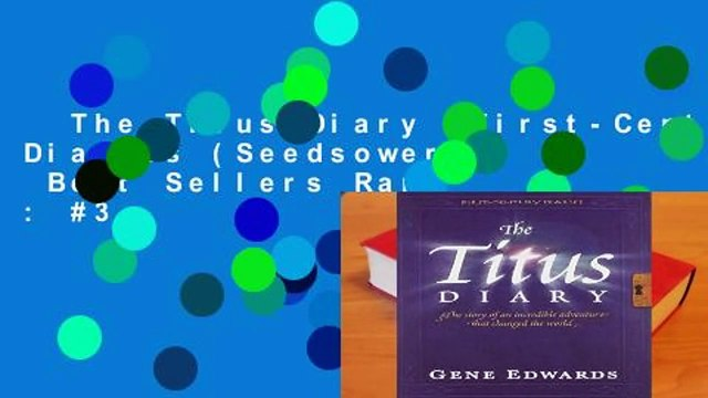 The Titus Diary (First-Century Diaries (Seedsowers))  Best Sellers Rank : #3