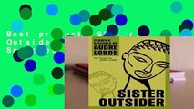 Best product  Sister Outsider: Essays and Speeches - Audre Lorde