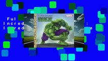 Full version  The Incredible Hulk (Marvel: Incredible Hulk) Complete
