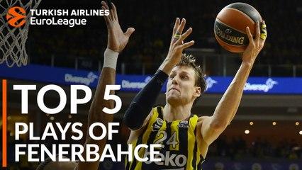 Fenerbahce Beko Istanbul - Top 5 Plays