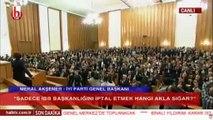 Akşener: Tüm Türkiye'de 31 Mart ve 24 Haziran görev yapmış sandık kurulu başkanları incelensin'