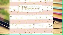 About For Books  Weekly Planner 2019: Calendar Schedule Organizer and Daily Planner With