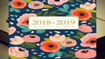 R.E.A.D 2018-2019 Academic Planner Weekly And Monthly: Calendar Schedule Organizer and Journal