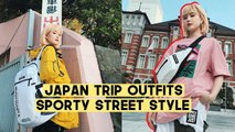 Our Japan Trip Outfits: Ultimate Sporty Street Style | DISCOVERY x Q2HAN