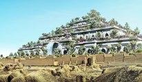Así serían los Jardines Colgantes de Babilonia  si no se hubiera destruido