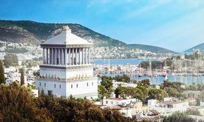 Así sería el Mausoleo de Halicarnaso  si no se hubiera destruido