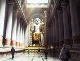 Así sería la Estatua de Zeus en Olimpia  si no se hubiera destruido