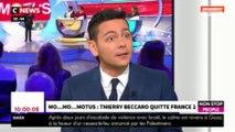 Morandini Live - Thierry Beccaro quitte Motus : quel avenir pour l'animateur ? (vidéo)
