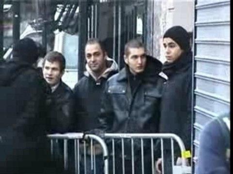 Action antisioniste paris bataclan