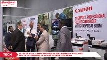 15 ans de Aitek : Canon renforce sa collaboration avec Aitek en vue de conquérir le marché ivoirien et Africain