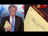 John Bolton´s Little Notepad