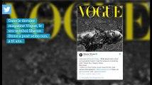 Sharon Stone topless dans Vogue à 61 ans, un clin d'oeil à Basic Instinct