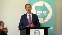 Farage wants Brexit Party to 'break' two party system