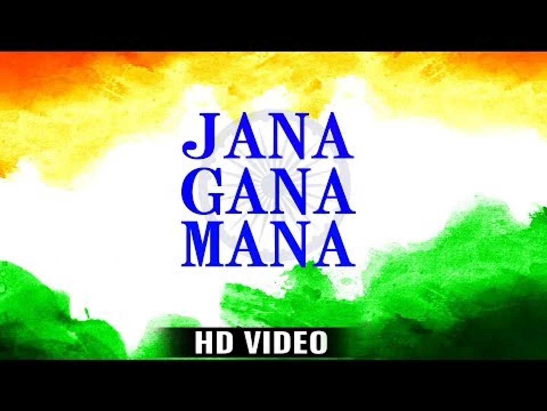 Jana Gana Mana - National Anthem (HD VIDEO) - Best Indian Patriotic Song -  Arya Nandini - Ravi Raj - video dailymotion