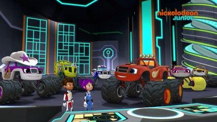 Monster MachinesStar Junior Les Nickelodeon Et Blaze QhsCrtd