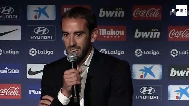 Les larmes de Diego Godin pour annonce son départ de l'Atlético