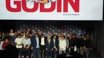 Godín se despide del Atlético de Madrid