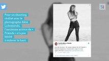 Jennifer Aniston topless dans le magazine américain Harper's Bazaar