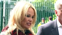Emotional Pamela Anderson visits Julian Assange in Prison