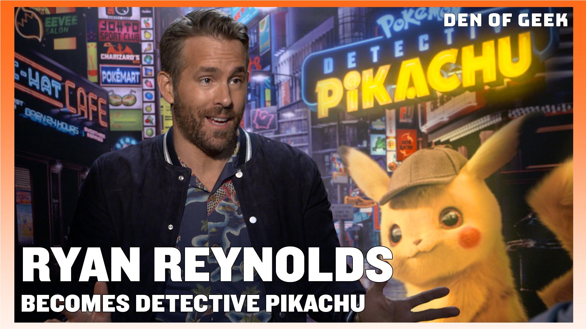 Detective Pikachu (2019) - Ryan Reynolds Interview