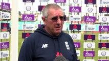 England coach Trevor Bayliss pre Pakistan