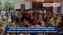"""NGO distributes ration among orphans, widows in J&K""""s Poonch #NGO #Orphans&widows #J&K"""