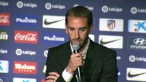 Un emocionado Godín se despide del Atlético de Madrid