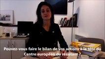 Trois questions à... Frédérique Neau-Dufour, directrice du Centre européen du résistant