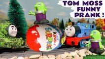 Tom Moss from Thomas and Friends Pranks The Funny Funlings by Opening & Unboxing Surprise Eggs replacing the Surprise Toys in this family friendly full episode