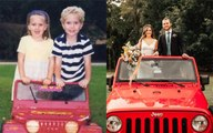 Preschool sweethearts reunite after 12 years apart and get married