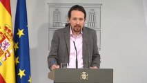 """Iglesias tras la reunión con Sánchez: """"Estamos de acuerdo en ponernos de acuerdo"""""""