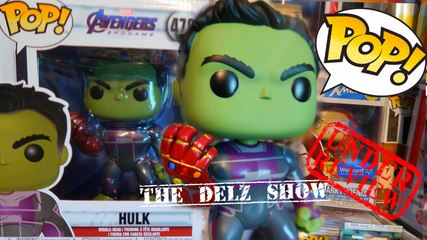 marvel the avengers endgame hulk with infinity gauntlet 6 inch funko pop detailed review endgame