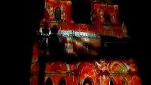 Spectacle son et lumière dans le cadre des fêtes johanniques 2019 à Orléans