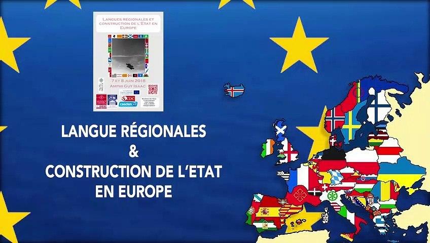 """Introduction du colloque """"Langues régionales et construction de l'état en europe"""" - Wanda Mastor, Professeur de droit public, Université Toulouse Capitole"""