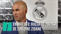 En Directo: Sigue la rueda de prensa de Zinedine Zidane