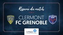 Clermont - Grenoble : le résumé vidéo