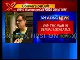 VHP-TMC war in Bengal escalates