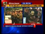 Army chief officers pays tribute to Colonel MN Rai