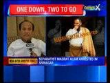 Masarat Alam arrested for raising Anti-India slogans in Srinagar